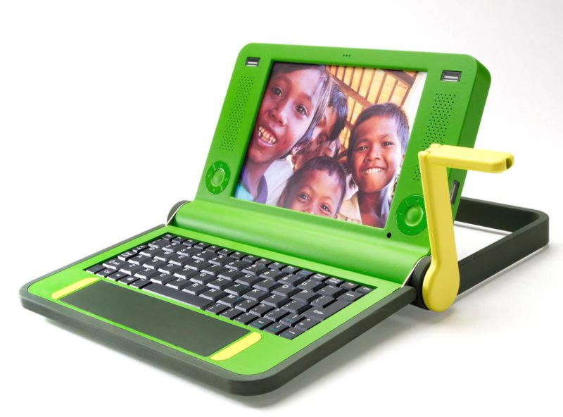 Cranking a sustainable laptop